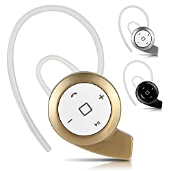 Mini Stylish Invisible Wireless Bluetooth Stereo 4.0 Headphone, Headset, Earphones, Handsfree In Ear With Mic V4.0 For All Smartphones Like Lenovo, Samsung, Le Tv, Asus, Coolpad By LOYO (Color May Vary)