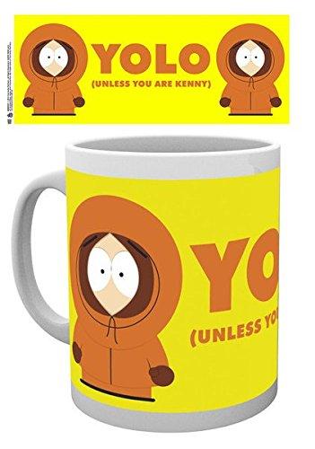 GB eye, South Park, Yolo, Tazza