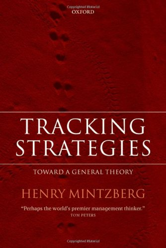 Tracking Strategies: Towards a General Theory of Strategy Formation