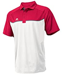 Russell Athletic Men's Colorblock Gameday Polo