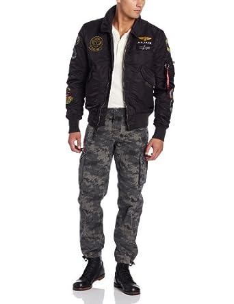 阿尔法工业经典CWU飞行员夹克Alpha Industries CWU Pilot X Flight 折后$122.5