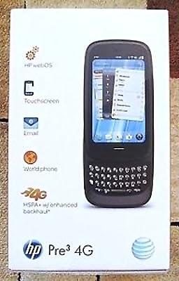 HP Palm Pre 3 16GB Black Unlocked QWERTY Keyboard Smart Phone