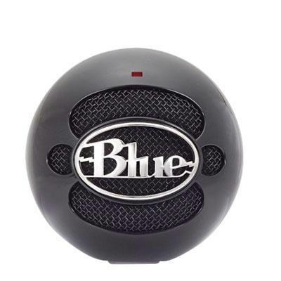 Blue Microphones Snowballglossblack Snowball Usb Mic - Black