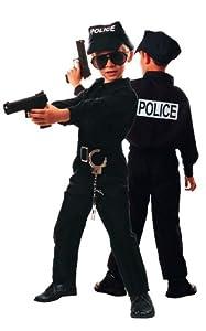 Party Pro 87117779, Déguisement Policier 7-9 ans