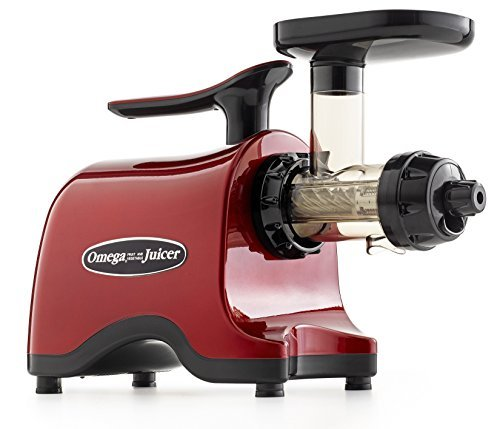 Omega Juicers Twin Gear Powerful Masticating Juicer TWN30R - RED (Power Juicer Red compare prices)