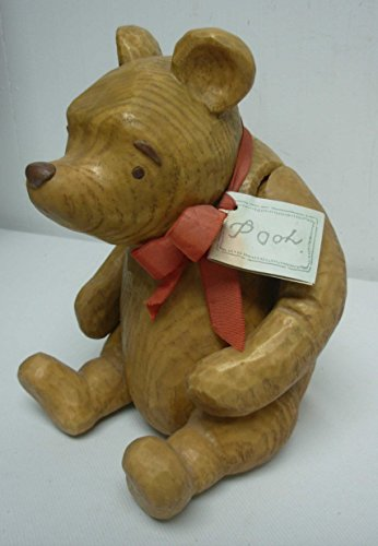 Disney Classic Winnie the Pooh Heavy Resin Jointed Bear By Charpente