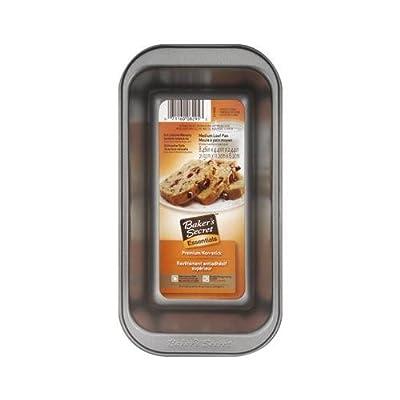 World Kitchen 1114434 Non-Stick Medium Loaf Pan, 8.5 x 4.39 x 2.24-In.