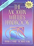img - for The Modern Writer's Handbook book / textbook / text book