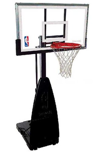 68454 Spalding Portable Basketball System - 54 Inch Backboard