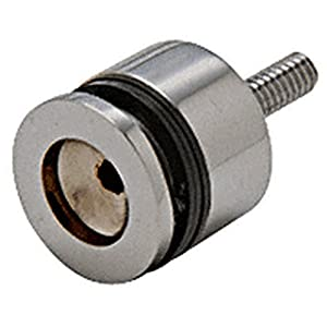 Brushed nickel finger pull knob bathroom for Bathroom knobs brushed nickel
