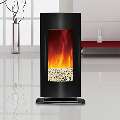 Novelle Wall Mount Electric Fireplace - Black (Charmglow Fireplace Insert compare prices)