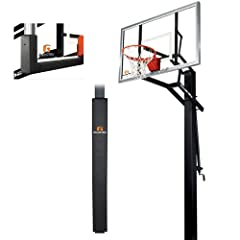 Goalrilla GLR GSII 60 Basketball System with Pole Pad and Universal Backboard Pad by Goalrilla