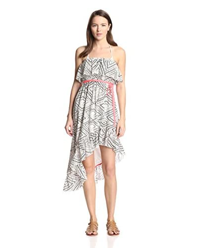 Basta Surf Women's Dulcina Strapless Ruffle Dress