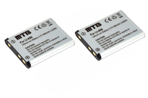 2x-batteria-klic-7006-per-kodak-easyshare-m23-m125-m215-m522-m530-m531vedi-lista