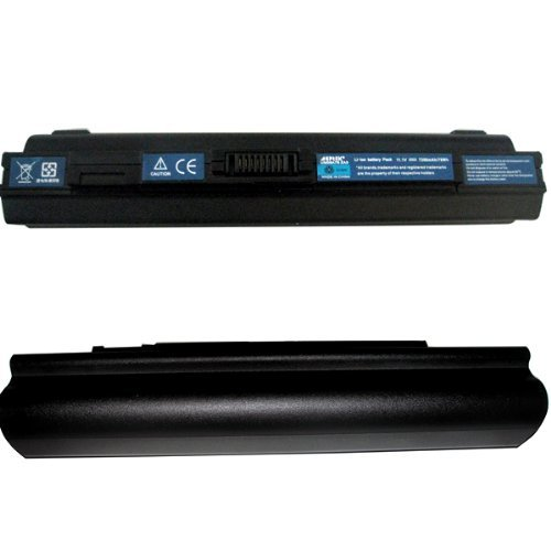 AGPtek 9 Cells Replacement Battery for Acer Aspire One 751 751H AO751 AO751H 11.6 ZA3 ZG8 Fit for UM09A75, UM09B31, UM09B34, UM09B71