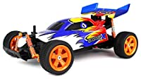 Velocity Toys Savage X Baja Buggy Remote Control RC Buggy 1:16 Scale Size Off Road Ready To Run RTR, High Performance, 4 Wheel Suspension (Colors May Vary)