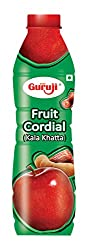 Guruji Fruit Cordial Squash, 750ml