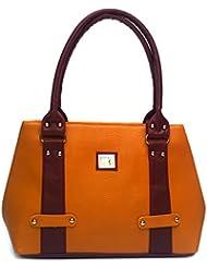 Alice Women's Ladies Stylish P U Handbag Shoulder Lather Bag Tote Hand Bag