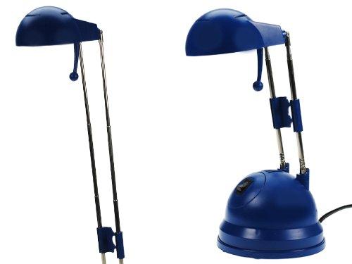 Tischlampe Tischleuchte Schreibtischlampe TELESKOP Blau