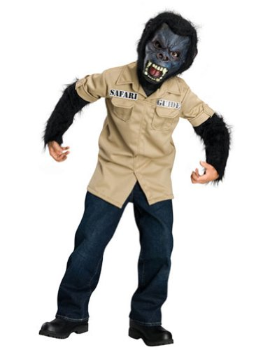 Gorilla Child Costume Sm Kids Boys Costume