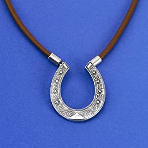 Toby Keith Horseshoe Necklace from Broken Bridges movie