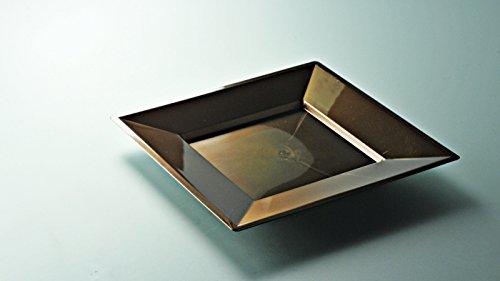 12-assiettes-carre-en-plastique-luxe-petite-taille-chocolat