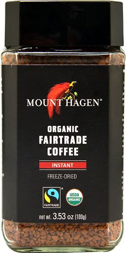 Mount Hagen Organic Fair Trade Instant Coffee -- 3.53 oz - 2 pc (Instant Coffee Fair Trade compare prices)