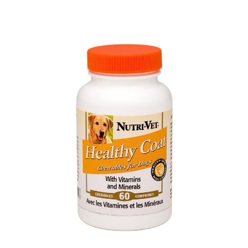 Nutri-Vet Healthy Coat Chewables, 60 Count