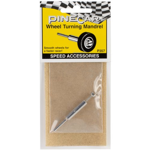 Woodland Scenics Pine Car Derby Speed Accessories, Wheel Turning Mandrel