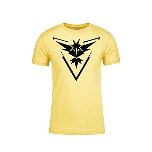 Pokemon-Go-Shirt-Team-Instinct-Emblem-Logo-Pokmon-GO-Shirt-Gym-Unisex