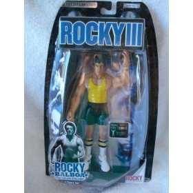 "Buy Low Price Jakks Pacific Best of Rocky III ROCKY BALBOA ""THE ITALIAN STALLION"" BEACH TRAINING GEAR Action Figure Doll (B00124K2EM)"