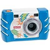 フィッシャープライス キッズ・タフ・デジタルカメラ スリム ブルー (W1459)