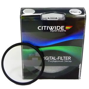 Citiwide 77mm Star Filter Cross 4 Point 4PT for Camera Lens newjoy детская кроватка newjoy point pt 1100