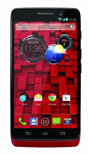 Motorola XT1030 - DROID MINI 16GB Android Smartphone - Verizon Unlocked - Red (Certified Refurbished)