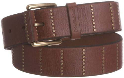 Calvin Klein Belt With Rivet Leather Men's Belt