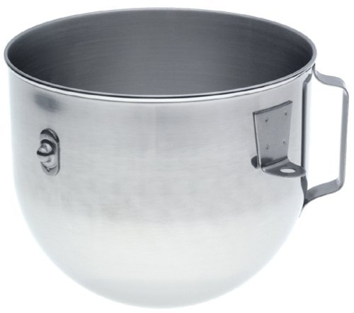 KitchenAid K5ASBP Bowl for 5-Quart Professional Stand Mixer (5qt Glass Bowl For Stand Mixer compare prices)