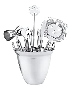 WMF 7-Piece Stainless-Steel Bar Set by WMF