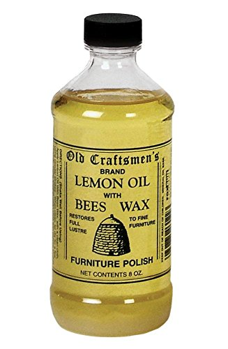 Old Craftsmen 39 S Lemon Oil With Bees Wax Wood Furniture Polish 8oz 030734031223
