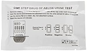 5 Panel Urine Drug Test (COC,THC,AMP,mAMP,OPI)- PACK OF 5