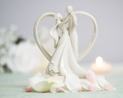 Wedding Accessories Heart Arch and Couple Cake Top