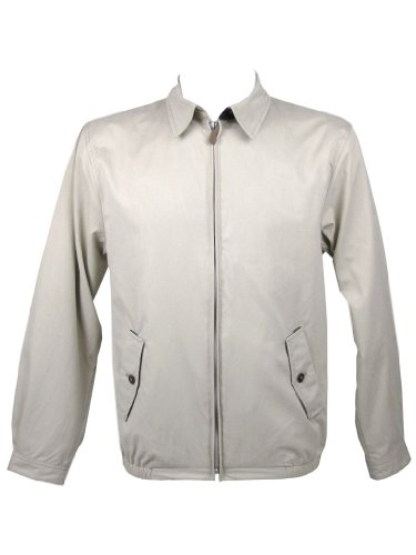 Mens Farah Blouson Harrington Jacket Stone
