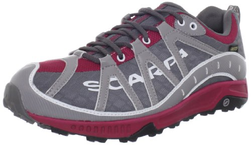 Scarpa Women's Spark GTX Trail Running Shoe,Anthracite/Garnet,38.5 EU/7 1/3 M US