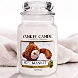 Yankee Candle Housewarmer Jar (Soft Blanket) Medium (14.5 oz)
