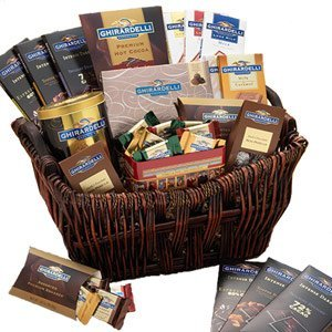 Ghirardelli Chocolate Chocolate Connoisseur Gift