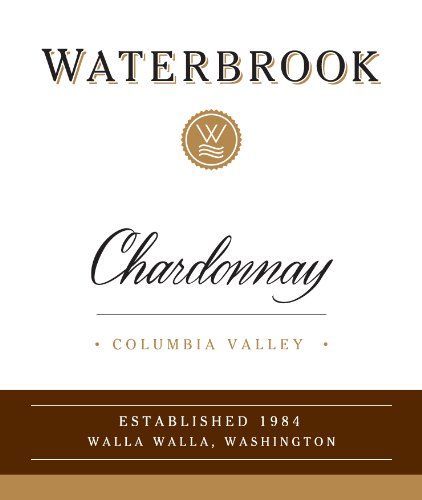 2013 Waterbrook Chardonnay, Columbia Valley 750Ml