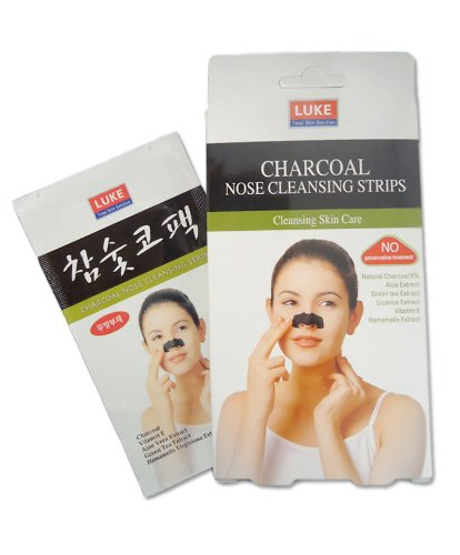 Luke Charcoal Nose Cleansing Strips - Pack Of 10