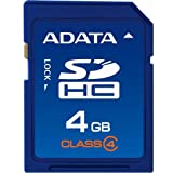 A-Data SDHC Turbo Class 6 Secure Digital High Capacity Card (SDHC) 4096 MB