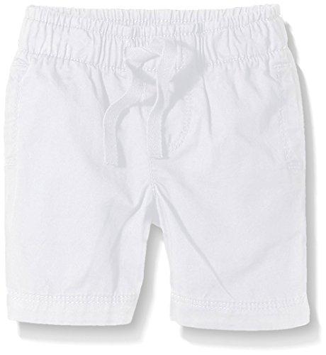 Petit Bateau Bristol, Shorts Bimba, Bianco (Écume), 18 Mesi