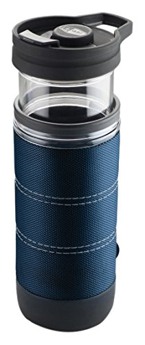 GSI Outdoors Commuter Javapress Coffee Mug, Blue, 15 fl. oz. (Gsi Outdoors Coffee Press compare prices)