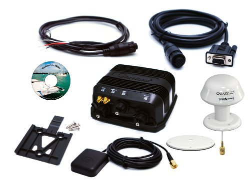 WxWorx MSWWR10S WR-10 XM WX Weather Data Receiver Bundle with Serial and WxWorx on Water Software (Marine)